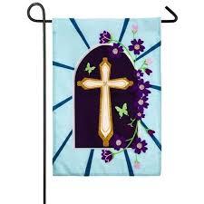 cross garden flag cross flag stand celtic cross garden flag