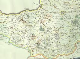 somerset map 1648 somerset map