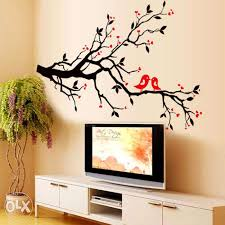 simple wall designs for a bedroom tremendous green tree murals in