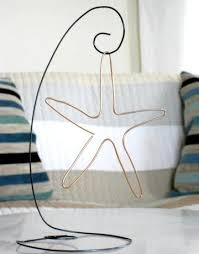 12 best wire stands images on pinterest christmas ornaments