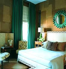 Two Tone Drapes Bedroom Emerald Green Drapes For The Bedroom With Verdant Jewel
