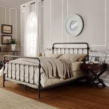 Bed Frame Hooks Metal Bed Frame With Hooks For Headboard And Footboard Bed Frame