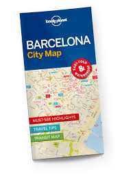 Ups Ground Shipping Map Barcelona City Map Lonely Planet Shop Lonely Planet Us