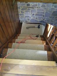 Sisal Stair Runner by Floor Installation Photos Sisal Stair Runner Installed In
