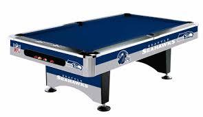 Imperial Pool Table by California Spas Imperial International Nfl Seahawks Pool
