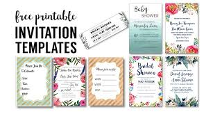 printable invitation template birthday party invitation templates free printables paper trail design