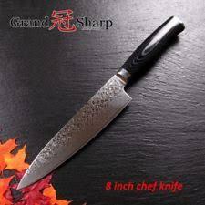 vg10 kitchen knives damascus kitchen knives ebay
