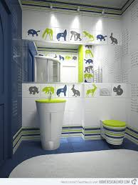 39 Blue Green Bathroom Tile Ideas And Pictures by 18 Colorful And Whimsical Kid U0027s Bathroom Home Design Lover