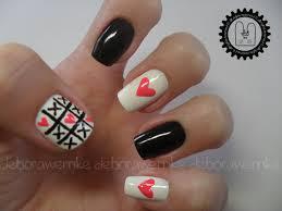 nail designs love nail arts