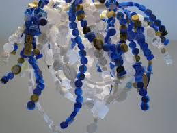 Chandelier Made From Plastic Bottles The Matchbook More Fun With Plastic
