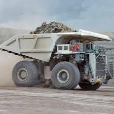 rigid dump truck diesel mining and quarrying t 284