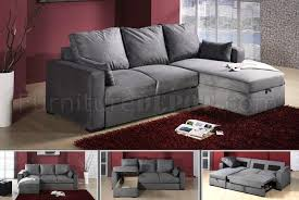 Gray Microfiber Sofa by Grey Microfiber Upholstery Modern Sectional Couch W Storage