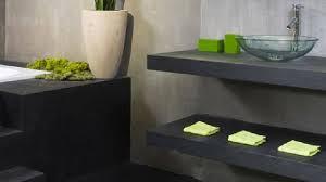 eco cuisine salle de bain plan vasque à faire soi même en béton bois carrelage avec vasque