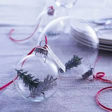 clear glass ornament display apartment therapy