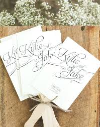 wedding fan program 15 lovely free printable wedding program templates