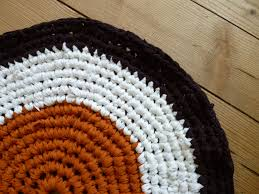 how to crochet rag rugs