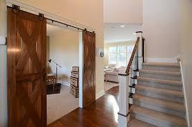 Barn Door Hardware Installation How To Install Interior Rolling Barn Door Round Rail Cs