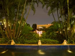 moonlight outdoor lighting luxury five star business hotel in chennai taj club house chennai