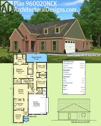 Floor Plans For Narrow Lots by Plan 960020nck Good Looks For A Narrow Lot Architectural Design