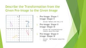 module 6 mid chapter test review describe the transformation from