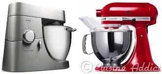 machine à cuisiner k vs ka kenwood contre kitchen aid lequel choisir cuisine
