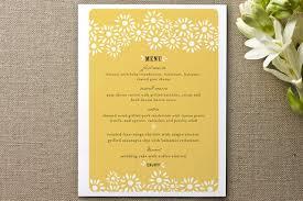 Designs Of Menu Card Minted Beautiful Dinner Party Menu Cards Kitchn