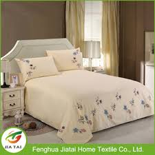 Cheap Cotton Bed Linen - hand embroidery flower designs cheap cotton bed sheets