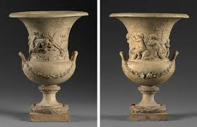Classical Vases Pair Of Vases With Bacchic Subjects The Frick Collection