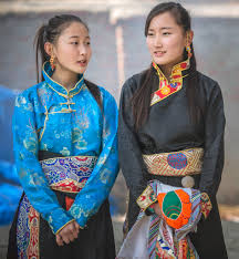 new year attire tibetan tibetan in traditional attire during l flickr