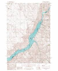 Oregon Idaho Map by Brownlee Dam Topographic Map Or Id Usgs Topo Quad 44116g8