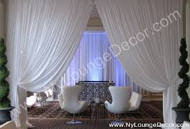pipe and drape wall treatments wall coverings