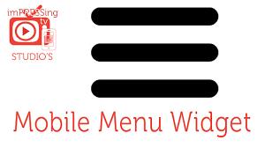 adobe muse mobile templates mobile menu site widget adobe muse