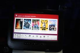 American Airlines Flight Entertainment by Virgin America First Class Review Travelupdate