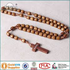knotted rosary brown medjugorje wooden knotted rosary buy knot rosary brown