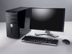 dell ordinateur de bureau ordinateur de bureau dell vostro 220 st e7200 d11s213 pas cher