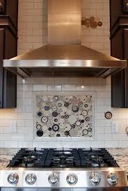 kitchen mosaic tiles ideas has the lightheartedness of polka dots i the random circles