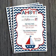 nautical thank you cards friendship nautical theme baby shower thank you cards in