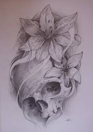 a feminine twist to a skull arog78