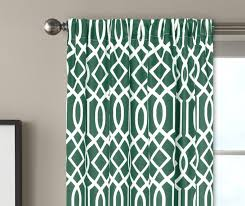 Emerald Green Curtain Panels by Better Homes And Gardens Ironwork Window Curtain Walmart Com