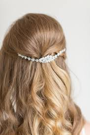 the hairstyle the swag bridal hair swag wedding hair jewelry wedding headpiece 2463627