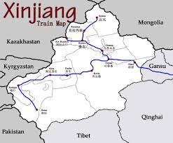 China Train Map by Travel The Urumqi Train Station In Xinjiang 乌鲁木齐南站