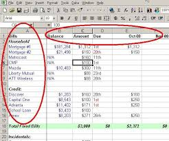 Household Expense Spreadsheet A Personal Budget On Excel In 4 Easy Steps Budgeting Ocd