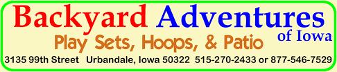 Backyard Brand Grills Backyard Adventures Of Iowa Play Sets Outdoor Furniture Grills