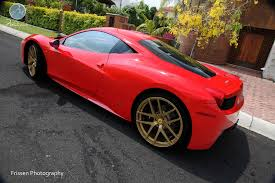golden ferrari with diamonds ferrari friday modulare wheels ferrari 458 italia 21 22