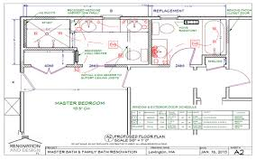 Double Master Bedroom Floor Plans Lexington Ma Bathroom Remodel Design Plan Renovation And Design