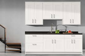 Where Can I Buy Used Kitchen Cabinets Cabinets U0026 Drawer Bianca White Shaker Kitchen Cabinets In Stock