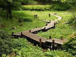 Most Beautiful Gardens In The World by Best 25 Wooden Walkways Ideas On Pinterest Pallet Walkway Wood