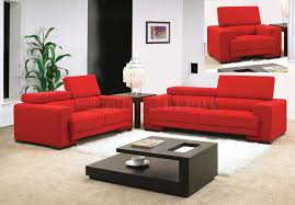 red living room furniture and most comfortable modern sofa we have