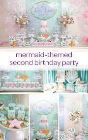 unique party mermaid birthday party unique party themes birthday party themes