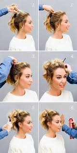 casual updo hairstyles front n back best 25 short hair ponytail ideas on pinterest short hair
